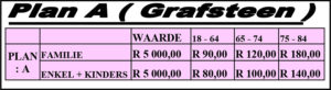 Funeral Plan A (Tombstone) | Jeudfra Funeral Services in Upington