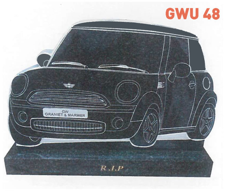 GWU 48 Tombstone | Jeudfra Funeral Services in Upington