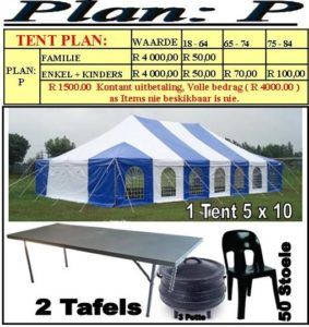 Tent Promotion 2019 | Jeudfra Funeral Services in Upington